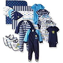 Gerber Baby Boys' 19-Piece Essentials Gift Set