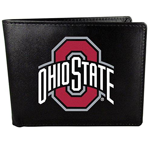 Siskiyou NCAA Ohio State Buckeyes Bi-Fold Wallet Logo, Large, Black Ohio Bi Fold Wallet