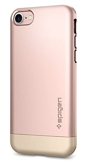 best loved 29c7e 83405 Spigen Style Armor iPhone 7 Case with Soft-Interior Scratch Protection for  iPhone 7 2016 - Rose Gold