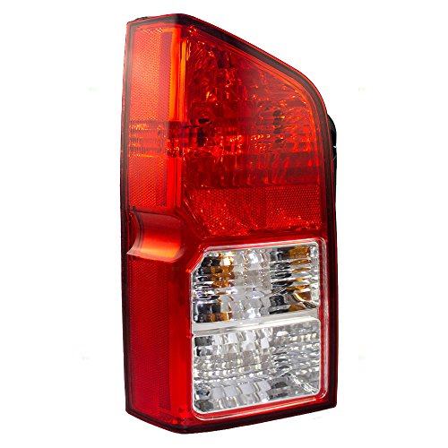 Drivers Taillight Tail Lamp Replacement for Nissan SUV 26555EA525 AutoAndArt