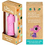 Made in The USA - The Brushies Baby and Toddler Toothbrush - Pinkey The Pig!