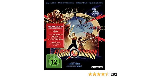 Flash Gordon - Special Edition [Alemania] [Blu-ray]: Amazon.es ...
