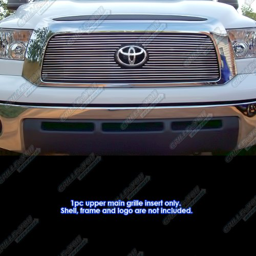 APS T65458A Polished Aluminum Billet Grille Bolt Over for select Toyota Tundra Models