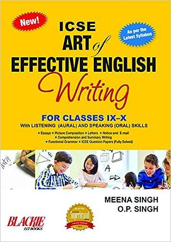 Amazon in: Buy ICSE Art of Effective English Writing for Classes IX