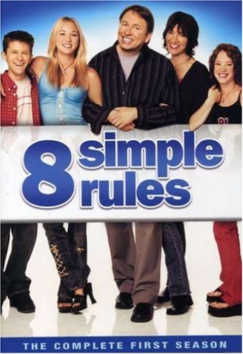 DVD : 8 Simple Rules: The Complete First Season (3PC)