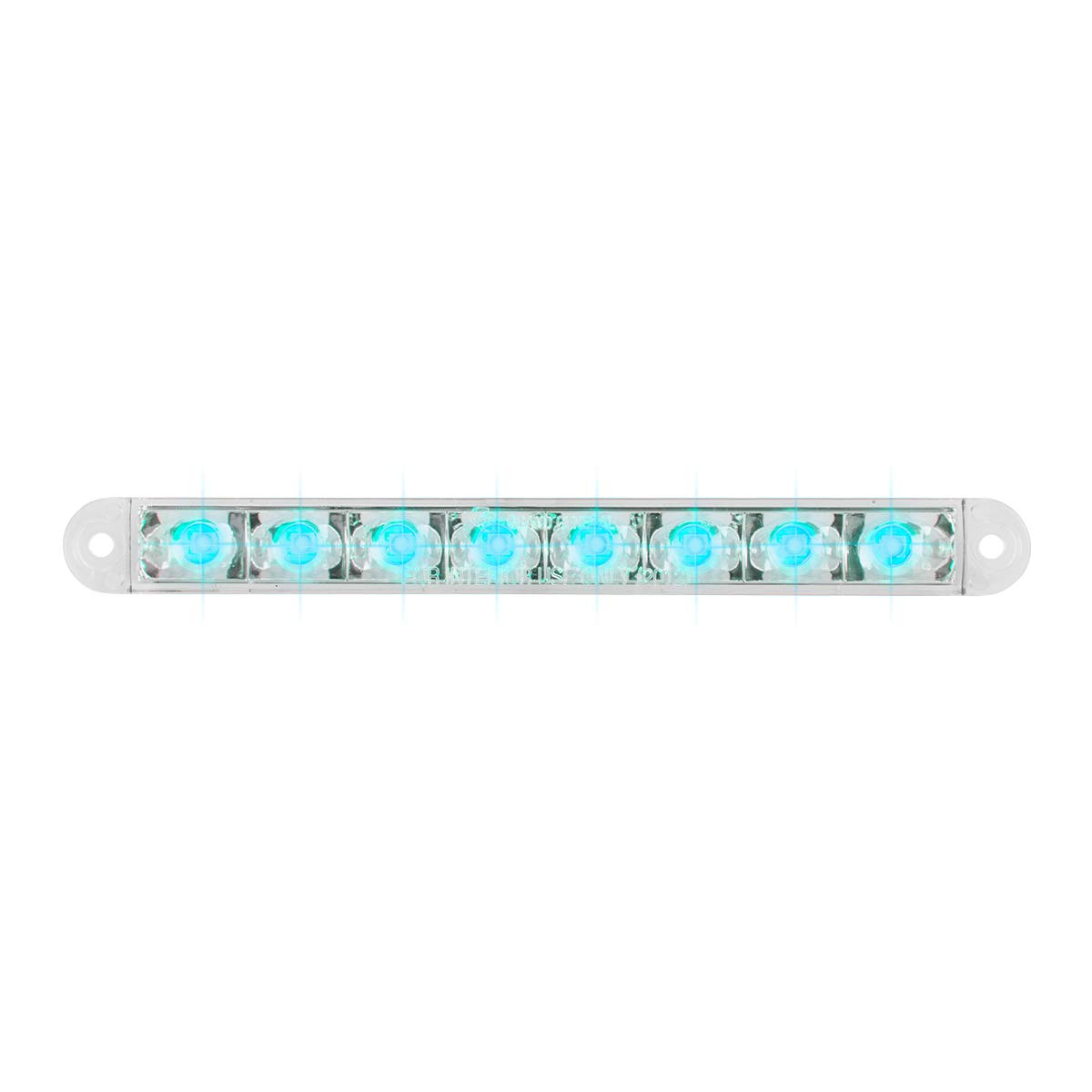 6-1//2 Pearl Blue//Clear 8LED, 3 Wires GG Grand General 74766 Light Bar