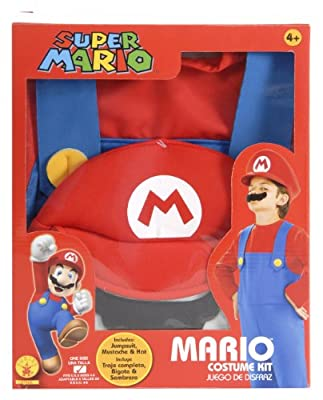 Rubies Super Mario Brothers Child's Costume Box Set by Rubies