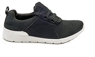 LADIES WOMENS SNEAKERS TRAINERS SLIP ON CASUAL COMFY SHOES SIZE UK 3 4 5 6 7 8