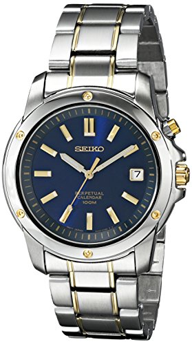 (Seiko Men's SNQ010 Perpetual Calendar Watch)