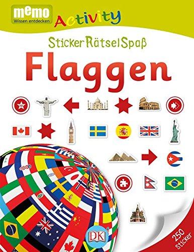 memo Activity. StickerRätselSpaß: Flaggen