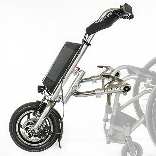 Firefly Electric Handcycle Next Generation from Rio Mobility (Standard Frame Tube) (Tng Scooter Battery)