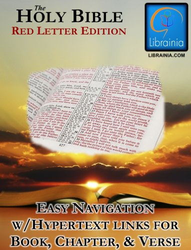 Holy Bible - Red Letter Edition (with Illustrated History of the King James Version) (Pews Church Used Sale For)
