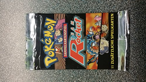 Pokemon Team Rocket German Booster Pack (Team Booster Pokemon Rocket)