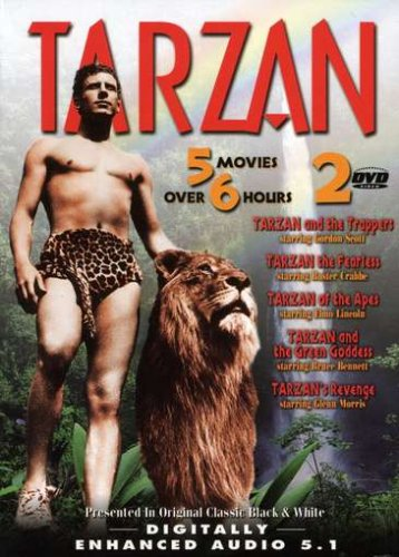(Tarzan (Tarzan and the Trappers / Tarzan the Fearless / Tarzan of the Apes / Tarzan and the Green Goddess / Tarzan's Revenge))