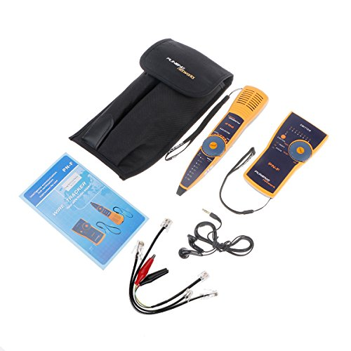 ELEGIANT Portable RJ45 RJ11 Cat6 Cat5 Telephone Wire Tracker Ethernet LAN Line Finder Network Cable Tester Detector - BI011