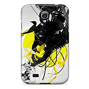 ZUDnq1933xKZtF Abstract Fashion Tpu S4 Case Cover For Galaxy