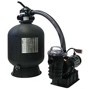 "Sta-Rite 19"" Sand Filter w/ Pump & Hoses"