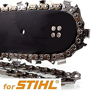 "x2 Two Genuine ROTATECH Chainsaw Chains To Fit STIHL 017 14/"" Bar 3//8 1.1mm 50 DL"