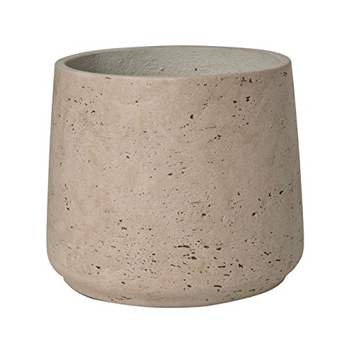 Grey Washed Planter Fiberstone indoor and outdoor Flower Pot 8