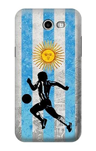 Amazon.com: R2977 Argentina Football Soccer Flag Case Cover ...