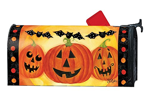 Studio M Halloween Outdoor Mailbox Cover MailWrap - Jack and Friends by Studio M