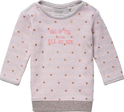 Noppies Baby-Mädchen Kleid G Dress Ls Chicago, Rosa (Blush C093), 56