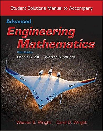 Student Solutions Manual To Accompany Advanced Engineering Mathematics Wright Warren S Wright Carol 9781284020991 Amazon Com Books