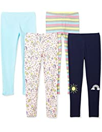 Girls' Toddler & Kids 4-Pack Leggings