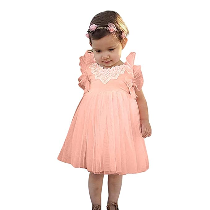K-youth® Vestido de Princesa para Niña Ropa Bebé Niñas Traje ...
