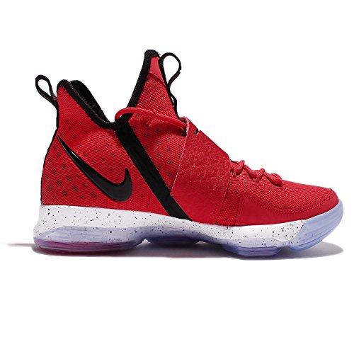 ... Nike Menns Lebron Xiv Ep, Universitet Rød / Svart-hvitt, 13 M Oss ...