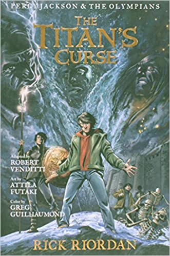 The Titan S Curse Percy Jackson The Olympians Book 3 Rick