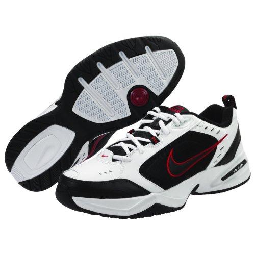 nike-air-monarch-iv-training-shoe-4e-white-black-varsity-red-size-95-us