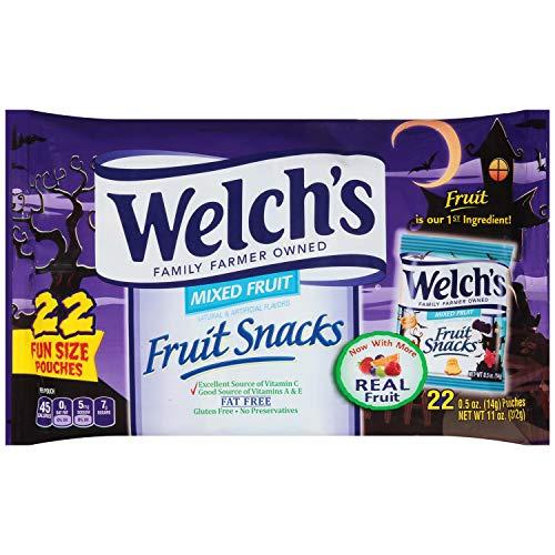 Halloween Welch's Fruit Snacks Mixed Fruit Bag