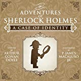 img - for A Case of Identity - Lego - The Adventures of Sherlock Holmes book / textbook / text book