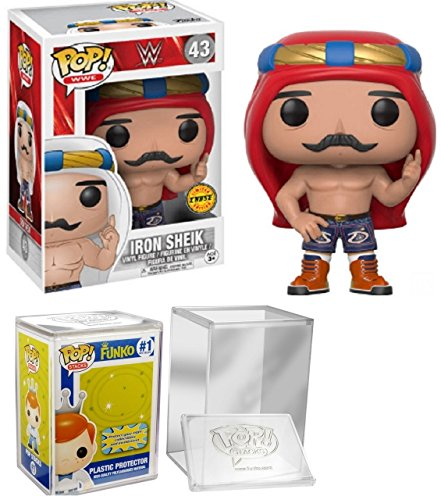 Funko Pop WWE Iron Sheik Chase w/ Pop Protector by Intellitoy, Inc.