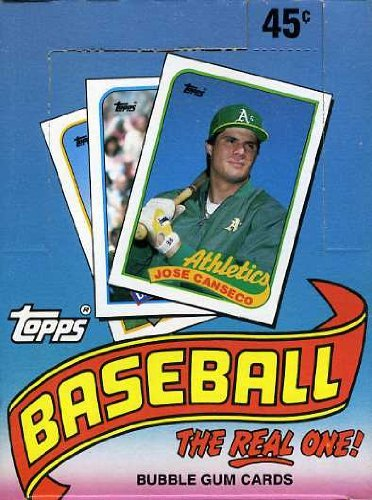 1989 Topps Baseball Cards Box (36 packs)