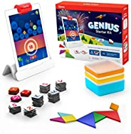 Osmo - Genius Starter Kit for iPad - 5 Educational Learning Games - Ages 6-10 - Math, Spelling, Creativity &am