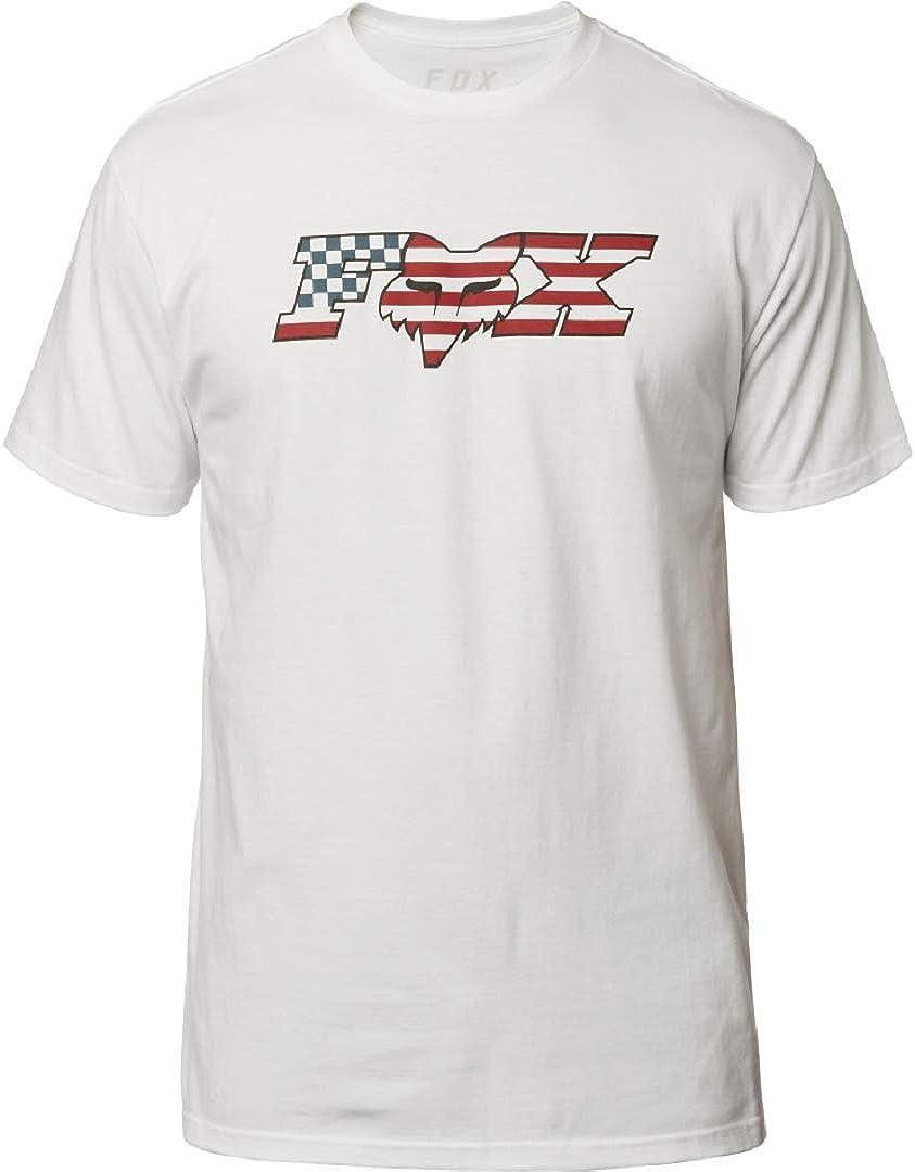 Fox Mens Flag Head X Short Sleeve Basic T-Shirt