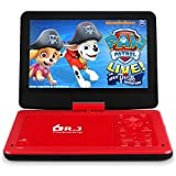 DR. J 12.5 Inch Portable HD DVD Player with 10.5 Inch Internal Swivel