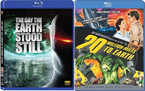 Classic Sci-Fi Blu-ray Set - 20 Million Miles to Earth & The Day the Earth Stood Still (3-Disc Special Edition) Bundle