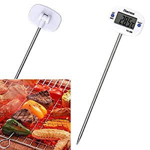 Digital Food Thermometer, Pen Style Kitchen BBQ Dining Tools Temperature Measurement