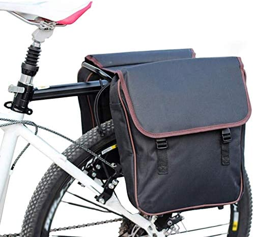 HWBB Bolsa de Bicicleta Alforjas de Bicicleta Bolsas de sillín Impermeables para Bastidor Trasero Bolsillos Grandes Portaequipajes de Maletero MTB Alforja Asiento Trasero Bicicleta de Ciclismo: Amazon.es: Hogar