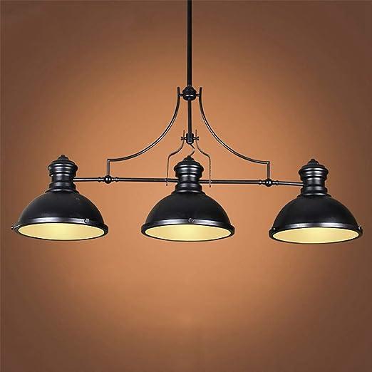 Shfmx Lámpara de Mesa de Billar Colgante Lámpara Colgante para la ...