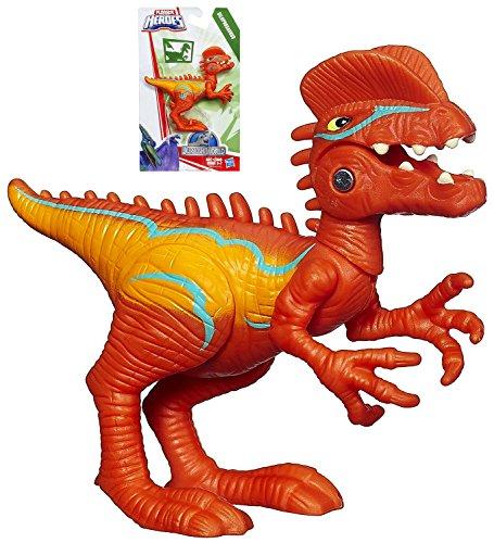 """Jurassic World Dilophosaurus Action Figure Playskool Heroes 3"""""""