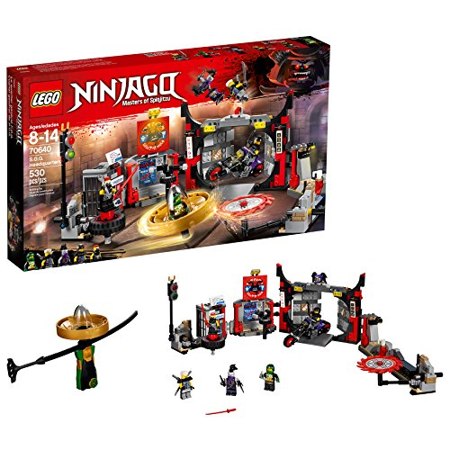 LEGO NINJAGO S.O.G. Headquarters 70640 Building Kit (530 Piece)