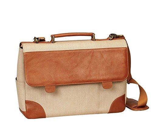 - BELLINO P4724 Leather & Canvas 15