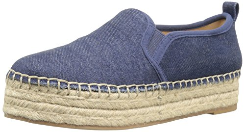 Sam Edelman Donna Carrin Espadrillas Slip-on Sneaker Navy Chambray