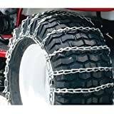 Maxtrac Snow Blower/Garden Tractor Tire Chains, 2 Link Spacing (Pair) - 1062656