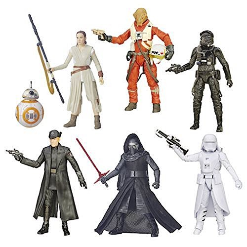 Wave 4 Action Figure Case - Star Wars TFA Black Series 6-Inch Action Figures Wave 4 Case