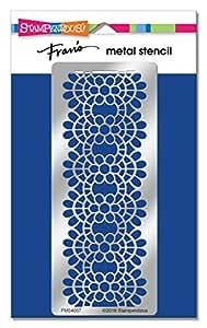 Stampendous FMS4057 Lace Metal Stencil